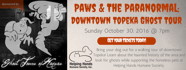 Paw Ghost Tour Downtown