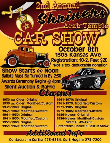 Shriner Car Show