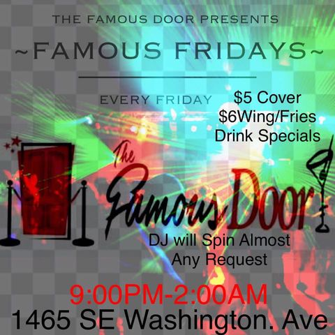 Famous Friday The Famous Door