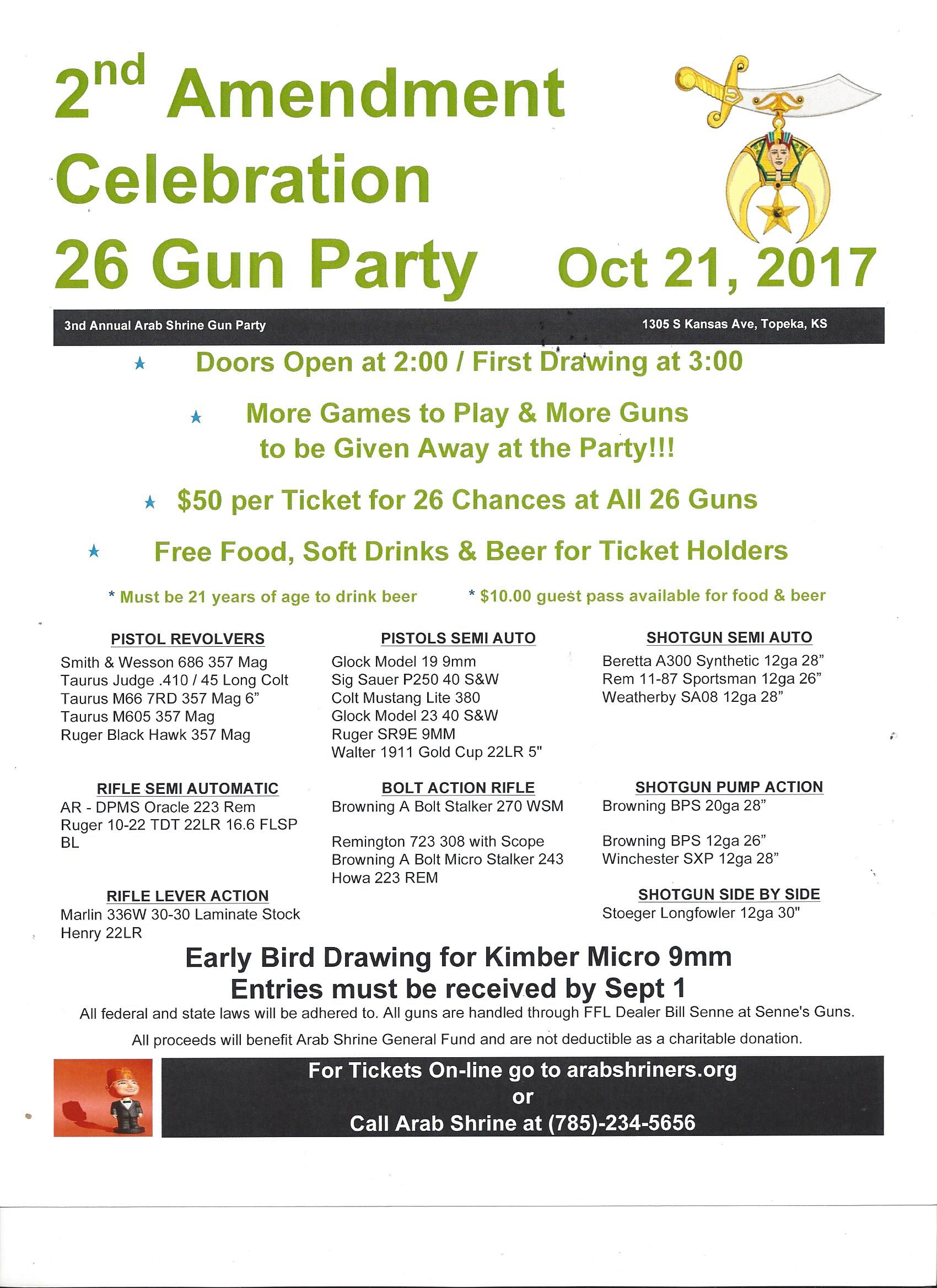 2017 2nd amgunparty flyer use this one. 2