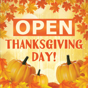 OPEN thxgiving day SQUARE 300x300