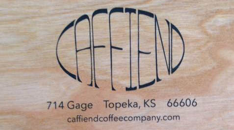Caffiend Business Card